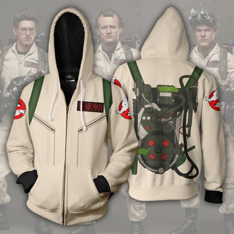 Ghost Busters Hoodies Cosplay Sweatshirts  Anime Costume Men Women New