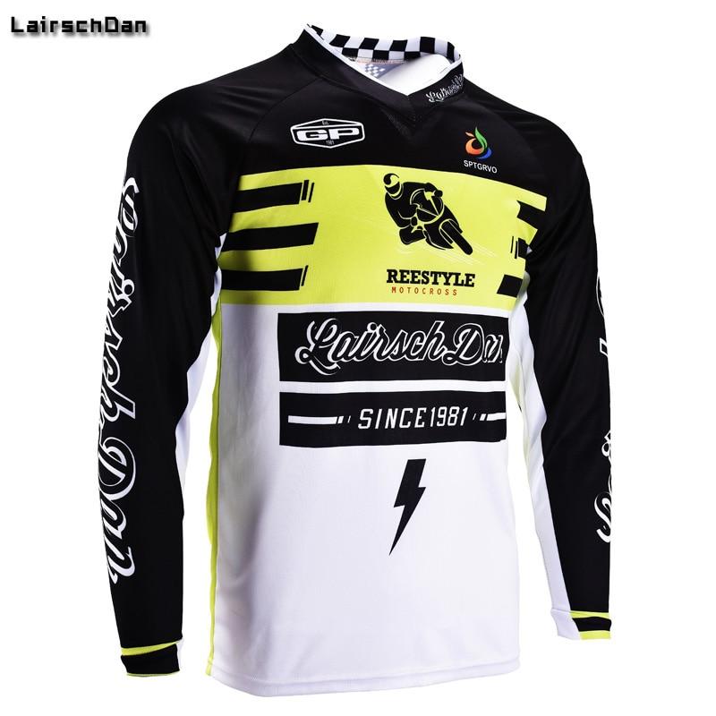 5863933a2 SPTGRVO LairschDan 2018 enduro Moto GP Long Sleeve Downhill Jersey Men Mtb  Bike Jerseys Cycling Offroad Motocross bmx Tshirt Vtt-in Cycling Jerseys  from ...