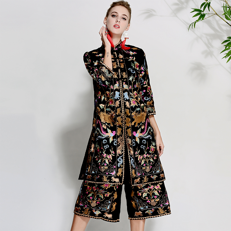New Brand Chinese Style Lux Women