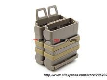 FMA 7 62 Fast Mags Polymer MOLLE Magazine Pouch BK DE FG Free shipping SKU12050179