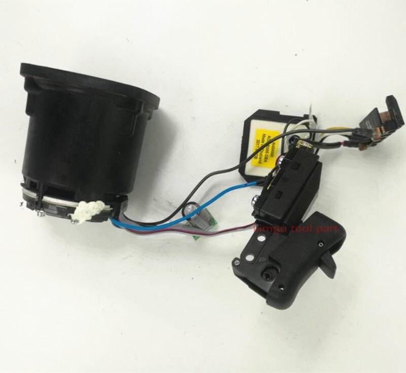 DC 60V Motor and Switch For DEWALT DCG414 N455889 N508008 N484568 dc 20v motor and switch replace for dewalt dcd777 dcd778