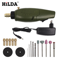 HILDA Mini Electric Drill Accessories Electric Grinding Set 12V DC Grinder Tool For Milling Polishing Drilling