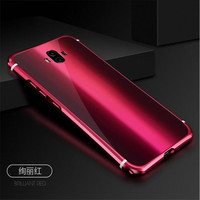 Luxury Ultra Slim Full Protection Case For Huawei Mate 10 Mate10 Mirror Tempered Glass Cover Plate
