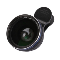 37mm Digital High Definition Macro Mobile Lens 0 45X Super Wide Angle Lenses For Iphone 7