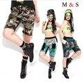 Melinda estilo 2015 nuevas mujeres cortas corto de lentejuelas 3 patrones de moda cortocircuitos transversales envío gratis