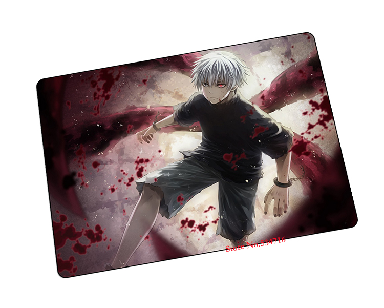 Tokyo Ghoul mouse pad best cool anime gaming mousepad notbook computer mouse pad gear mousepads large mat to mouse keyboard pad