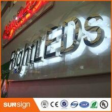 Водонепроницаемые наружные большие светодиодные буквы с подсветкой CE сертифицированные