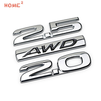 High End Metal Body Sticker Car Styling Auto Exterior Emblem Badge Decal For 2 0 2