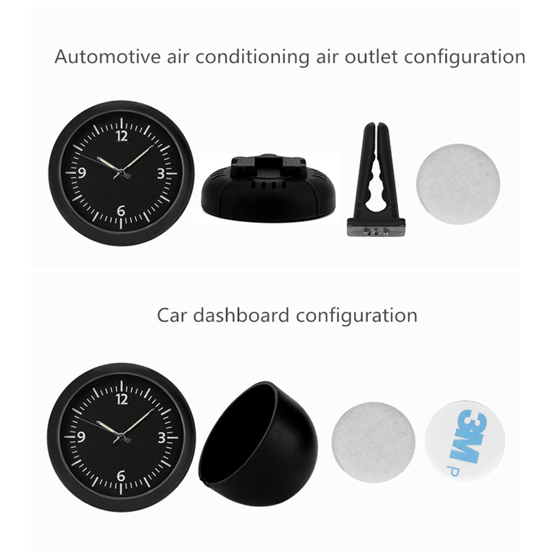 Back To Search Resultsautomobiles & Motorcycles Automobiles Clock Watch Car Clock Pointer Luminous Quartz Digital Clocks Watch Decoration Electronics For Car Interior Accessory