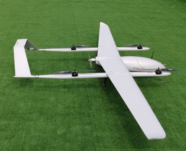 Eagle Hero-VTOL Gasoline Power KIT without any electrics Honeycomb core sandwich and carbon fibre UAV model image