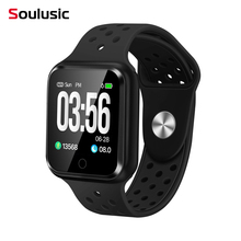 Soulusic Bluetooth Смарт часы IP67 Водонепроницаемый Долгое Время в режиме ожидания сердечного ритма кровяное давление Смарт-часы для Apple Watch