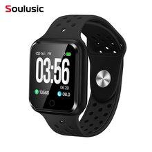 Soulusic S226 Bluetooth Smart часы IP67 Водонепроницаемый долгое время ожидания сердечного ритма крови Давление Smartwatch