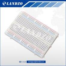 LANDZO Hot sale DIY 400 Points Solderless Bread Board Breadboard 400 PCB Test Board for ATMEGA PIC Arduino UNO Free Shipping(China (Mainland))