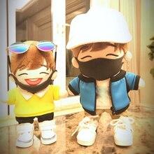 20 см exo кукольная маска 1/6 bjd дыхательная маска для вещей плюшевая кукольная маска