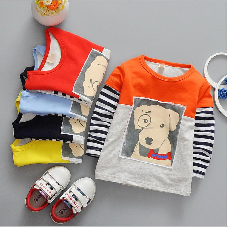 691a17df8898 ᗗBaby in the spring of the new fashion for boy and girl long sleeve ...