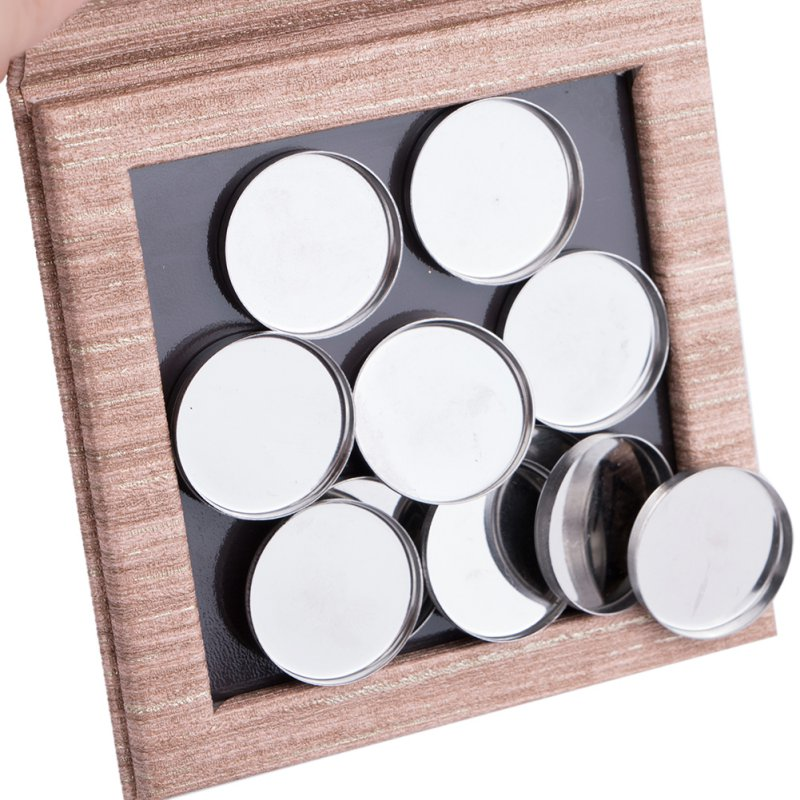 Beauty & Health Beauty Essentials Recyclable Makeup Pad Diy Empty Magnetic Cosmetics Palette Wooden Decorative Eye Shadow Empty Plate