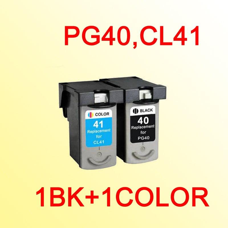 fd7714158 PG40 CL41 cartucho de tinta para Canon PG-40 CL-41 pg 40 CL 41 Pixma MP140  MP150 MP160 MP180 MP190 MP210 MP220 MP450
