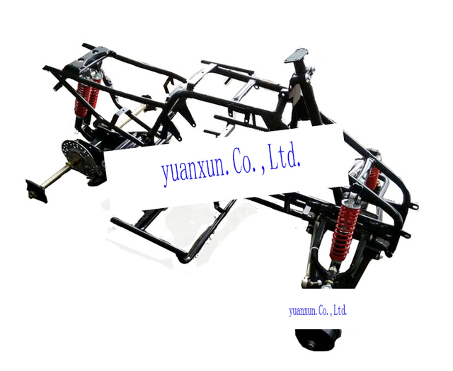 Four ATV Frame accessories 110250 large chain drive double rear ...