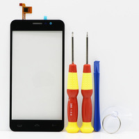 New Original Touch Screen Touch Panel For HOMTOM HT16 Replacement Parts Disassemble Tool Glue FPC YCTP50459FS