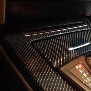 Image 4 - ملصقات تزيين السيارة من ألياف الكربون خماسية الأبعاد لسيارة Hyundai Creta Tucson BMW X5 E53 X6 VW Golf 6 7 GTI Kia Rio Sportage 2017 ملحقات