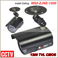 New Hot selling!Outdoor Sony CCD 36IR LED CCTV Bullet Camera 1200 TVL CMOS Surveillance Camera Free shipping
