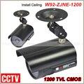 Nova venda Quente! Ao Ar Livre Sony CCD 36IR LED CCTV Câmera Da Bala 1200 TVL CMOS Câmera de Vigilância Frete grátis