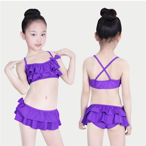 Swimwear Kids 2015 Biquini Infantil Girls Bikini Style Swimsuit Children Two Piece Maios B Biquinis - JANE&BOB Fashion Store store