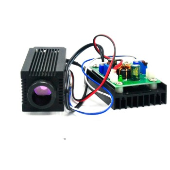 цена на Focusable 808nm 1.6W Near Infrared NIR Laser Diode Dot Module 1600mW IR Laser module 12V 33x80mm