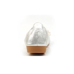 Image 4 - Beyarnebutterflyノットポインテッドトゥレディース靴フラッツ新ストリングビーズカジュアルバレエシューズプラスサイズ 45 scarpeドナ女性