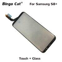 OEM Новый сенсорный экран дигитайзер стеклянная панель работает для Samsung Galaxy S8 Plus G955 ЖК-экран Сенсорная Функция проблема Замена