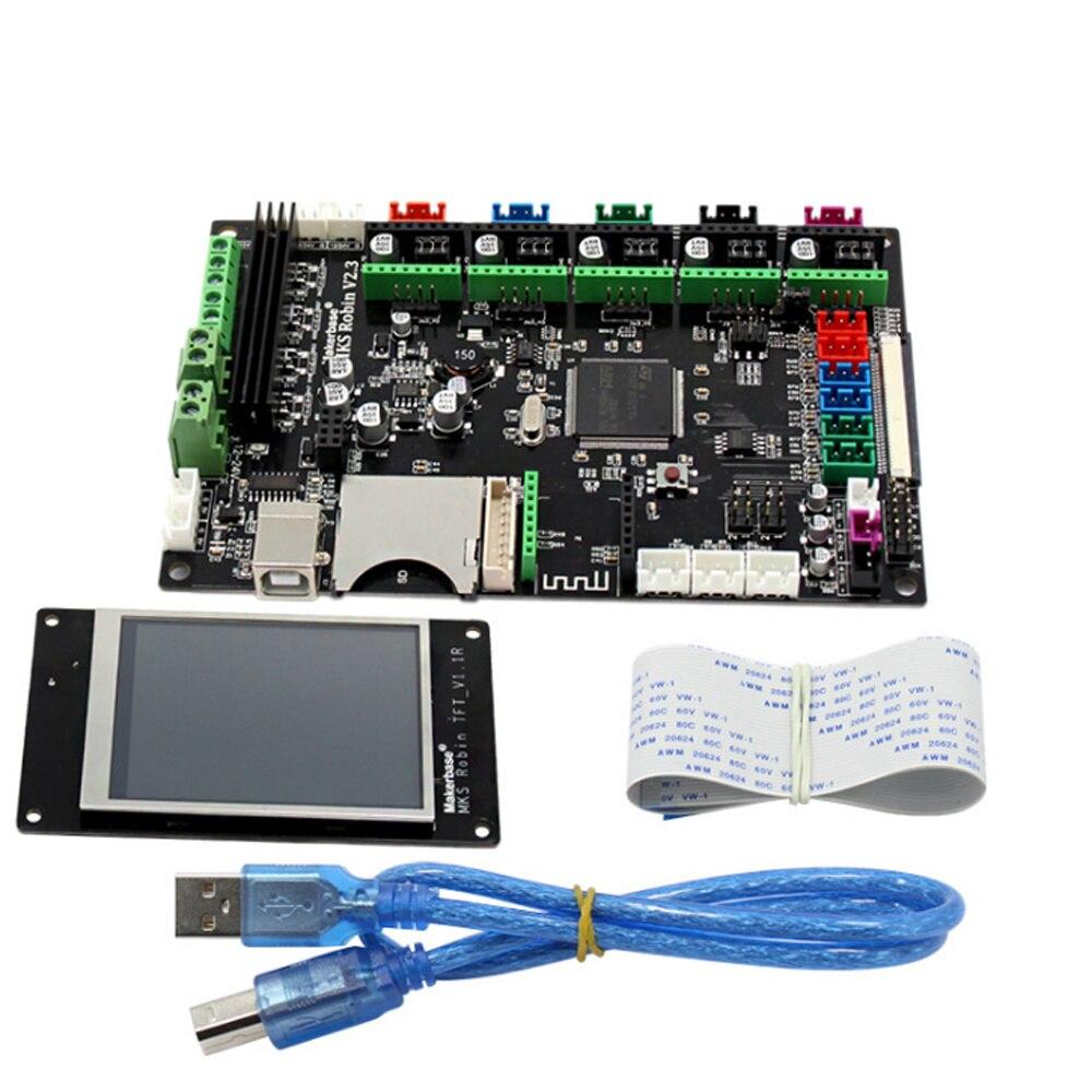 STM32 Carte Mère BRAS contrôleur Avec TFT 3.2 pouces à Écran Tactile Coloré Module pour 3D Imprimante
