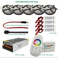 DC12V Led Light RGB 5050 SMD Led Strip Waterproof + 2.4G RGB RF Remote controller + Power adapter + Amplifier Kit