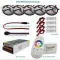 DC12V Led Light RGB 5050 SMD Led Strip Waterproof + 2.4G RGB RF Remote controller + Power adapter + Amplifier Kit