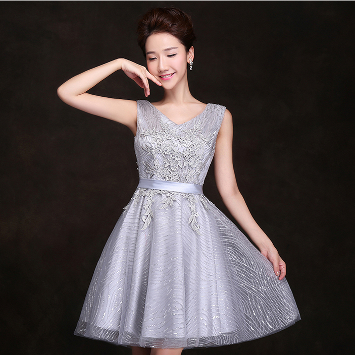 Online Buy Wholesale silver cocktail dresses for women from China ...