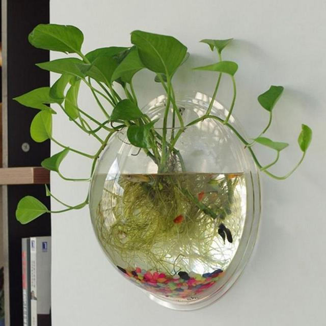 Aliexpress Buy Home Decoration Transparent Plants Flower Pot