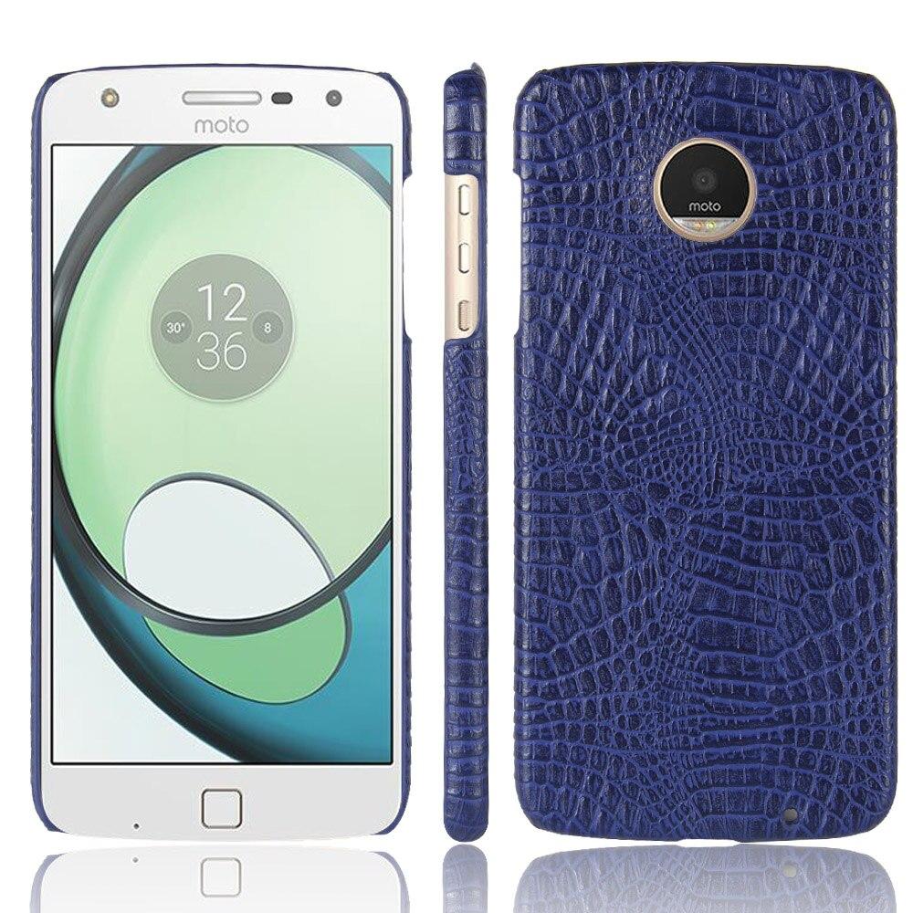 Для Motorola Moto G5 G6 g6plus Z Play Z2 M E4 E4 C Plus с узором «крокодиловая кожа» Искусственная кожа роскошный бизнес телефон чехол Коке Капа
