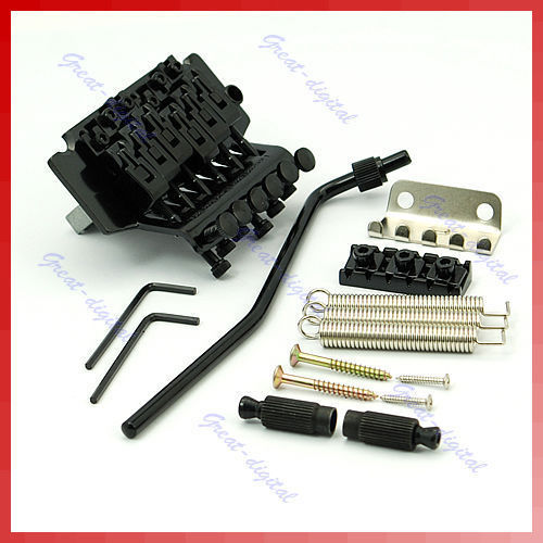 купить Floyd Rose Lic Tremolo Bridge Double Locking System Black в интернет-магазине