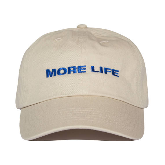 MORE LIFE Hat Beige  Aubrey Drake Graham Latest Album No Structure Women and Men Dad Hat Quality Embroidery Baseball Cap Fashion aubrey canvas