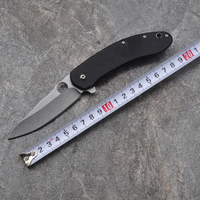 Hot Sale EDC Tool Survival Knife CTS 204P Blade G10 Titanizing Steel Handle Camping Hunting Pocket