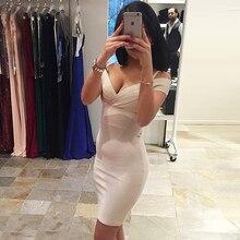 INDRESSME 2017 New Women Sexy Sheath Sleeveless V-Neck Hollow Out Mini Solid Summer Bandage Dress