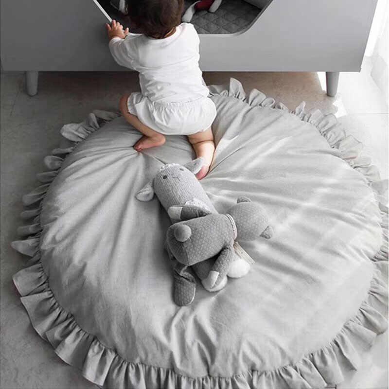 Newborn Baby Padded Play Mats Blanket