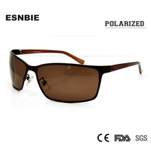 ESNBIE Polaroid Lens Sunglasses Men Driving Sun Glasses for Men UV400 Protection Eyewear Goggle