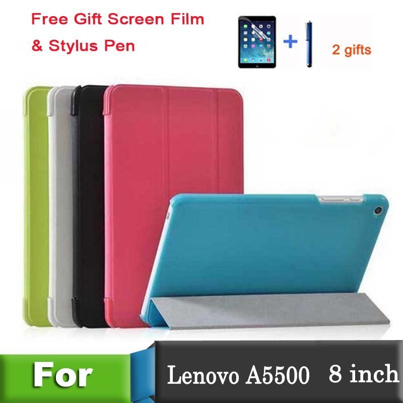 Leather Case for Lenovo a5500