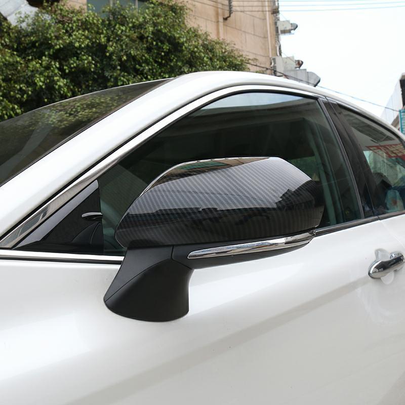 100% Wahr Für Toyota Prado Fj150 Fj 150 2010 2011 2012 2013 2014-2018 Abs Chrome Side Door Rückspiegel Abdeckung Auto Zubehör 2 Pcs