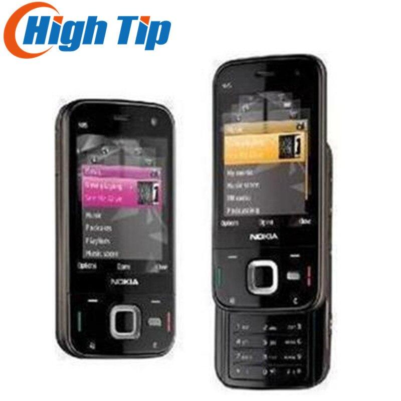 Livraison gratuite Nokia marque Débloqué D'origine N85 5MP Caméra, GPS téléphone, bluetooth, wi-fi 1 an de garantie Remis À Neuf