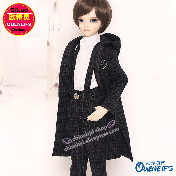 BJD Clothes 1/4 Doll Winter fashion Casual Suit A thick Suit Coat with Shirt For the Minifee Boy Body YF4-145 Doll Accessories