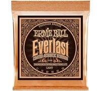 Ernie Ball 2548 Ever Last Phosphor Light Acoustic Guitar Strings 011 052
