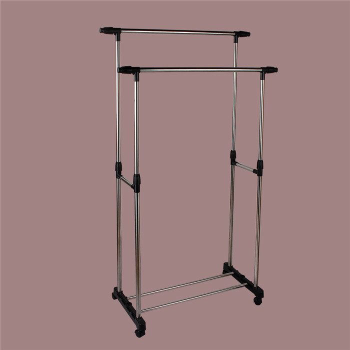 furniture to hang clothes. aliexpresscom buy double clothing racks hanger furniture folding clothes rail hanging garment dress to hang a