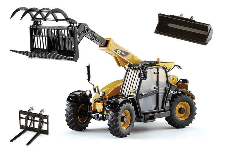 CAT CATERPILLAR TH407C TELEHANDLER W/ ATTACHMENTS FEATURES 1/32 BY NORSCOT 55278 сетка panasonic для бритв es 718 719 725 rw30 es9835136