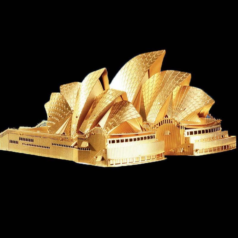 3D-Gold-Sydney-Opera-House-Metal--Puzzle-DIY-Architecture-Assembled-Model-Building-Kid-Educational-Gifts-Interested-Toy-TK0110 (1)